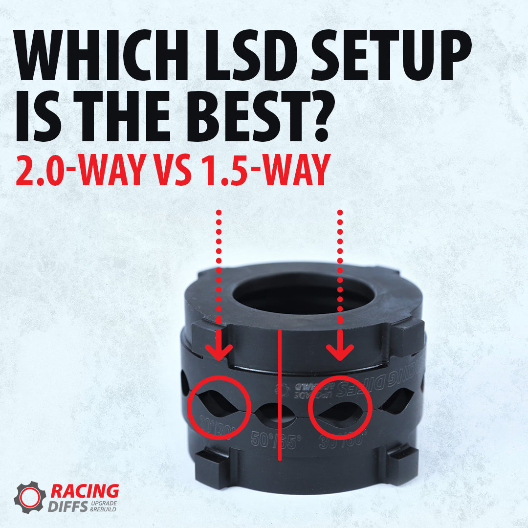 1.5-Way VS 2.0-Way LSD | Pros and Cons, which is better?