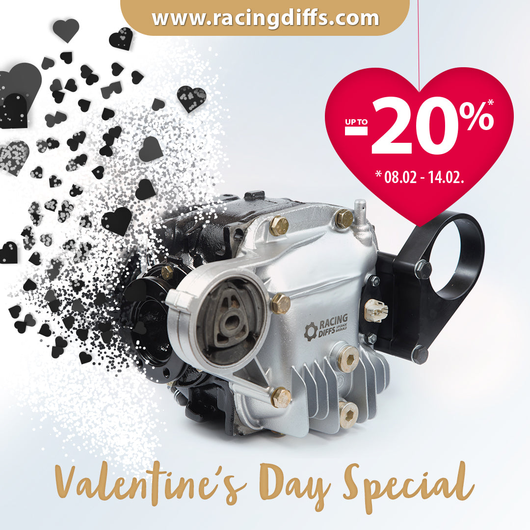 Valentine's day Special! Up to 20% OFF