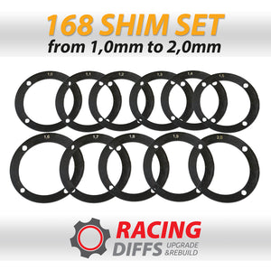 BMW 168 LSD Backlash adjustment shim kit