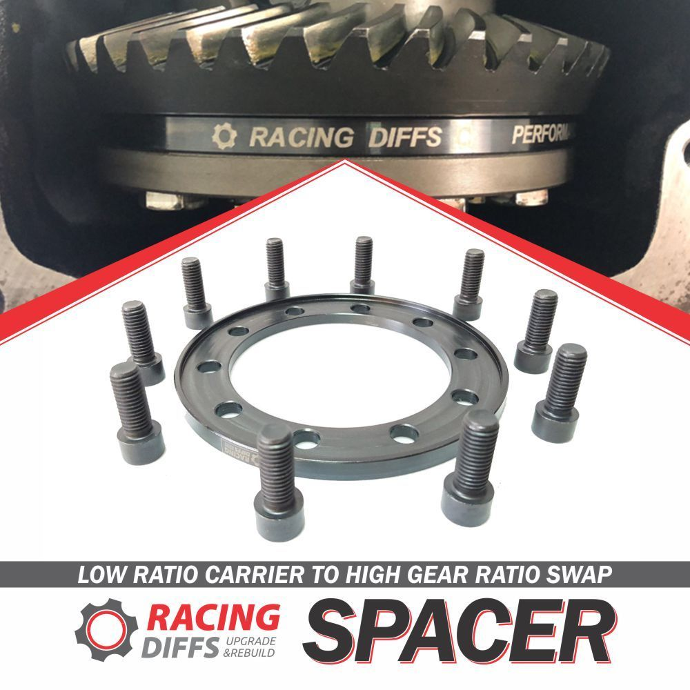 BMW 168 LSD crown ring spacer low to high gear ratio swap