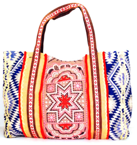 SOLD OUT Legend hippie large tote - One of the kind by Myriam Calhoun