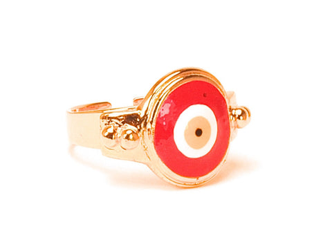 SOLD OUT Khloe Eye ring - Yellow gold plated