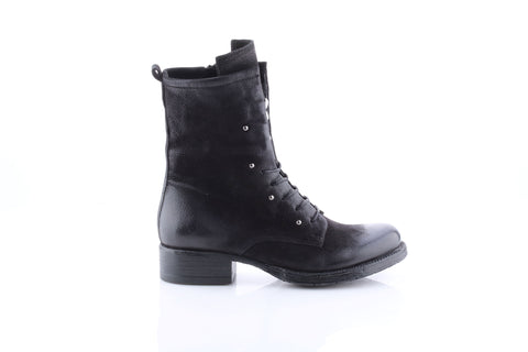 MJUS Italian Leather Boot in Nero