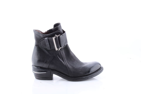 AS98 Italian Leather Boot in Nero