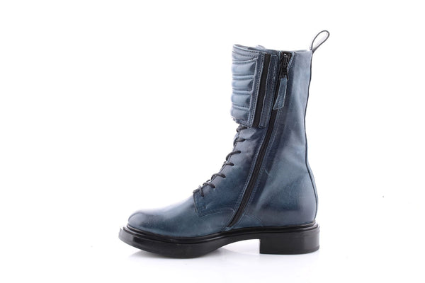 MJUS Italian Leather Boot in Ink