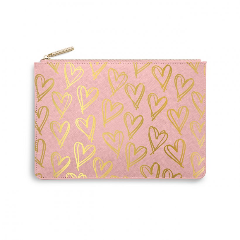 Katie Loxton Heart Print Perfect Pouch