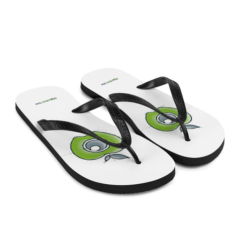 Objective-See Hand Drawn Logo Flip-Flops