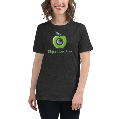 Objective-See Hand Drawn Logo tShirt (Women)