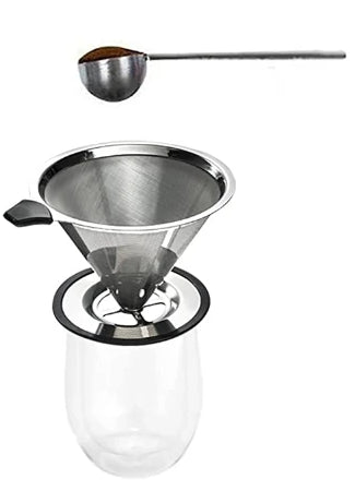 pour over coffee add grounds