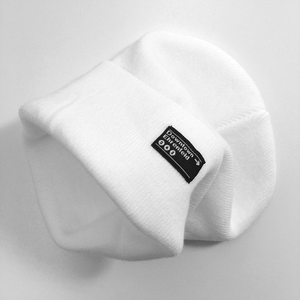 Downtown White Beanie
