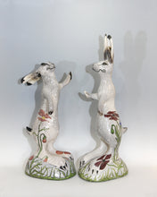 Load image into Gallery viewer, Hand built Raku fired Dancing Hare  79 cmx 35cm