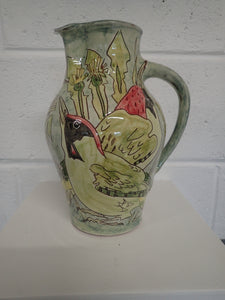 Large Green woodpecker Jug