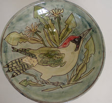 Load image into Gallery viewer, Green woodpecker Bowl