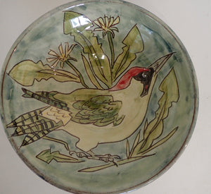 Green woodpecker Bowl