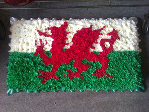Welsh Flag/Feathers