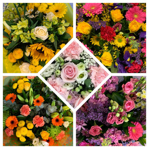Hand Tied Bouquets - Florist Choice of the day