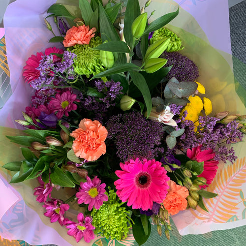 Hand Tied Bouquets - Vibrant Mix