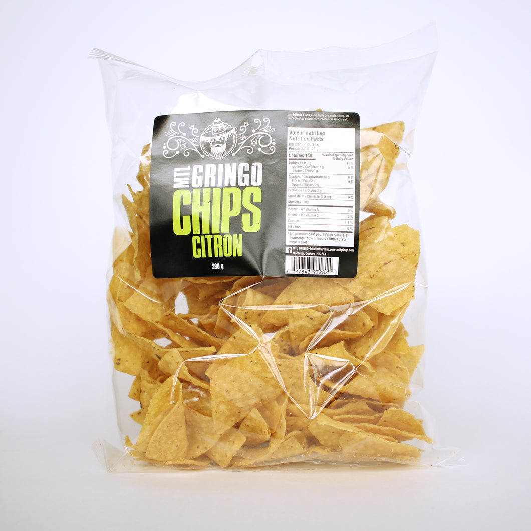 Chips Tortillas Citron