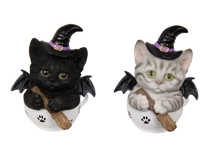 11cm Cat Witch Brewer