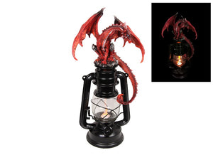 Red Fire Dragon Lantern