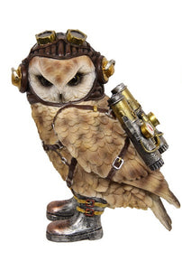 Owl Punk with Jet Pack