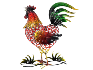 Rooster - Metal Wall Hanging