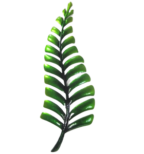Fern - Green - Metal Wall Hanging