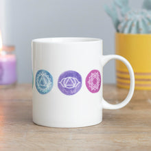 Load image into Gallery viewer, Aligned Chakra Ceramic Mug NEW!