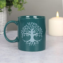 Load image into Gallery viewer, Tree of Life Green Ceramic Mug NEW!