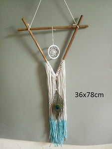 Dreamcatcher Crochet Triangle