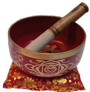 Chakra Singing Bowl Red