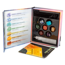 Load image into Gallery viewer, Chakra Stones Wellness Kit