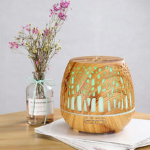 Load image into Gallery viewer, Aroma Diffuser Natural Wood
