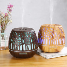 Load image into Gallery viewer, Aroma Diffuser Dark Wood Grain