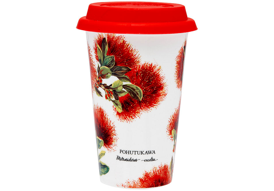 Flowers of New Zealand Travel Cups