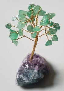 Gemstone Tree Crystal Base