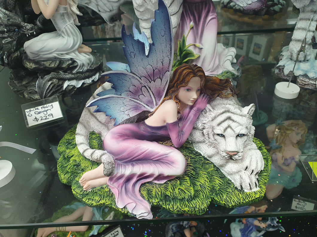 Fairy with Tiger