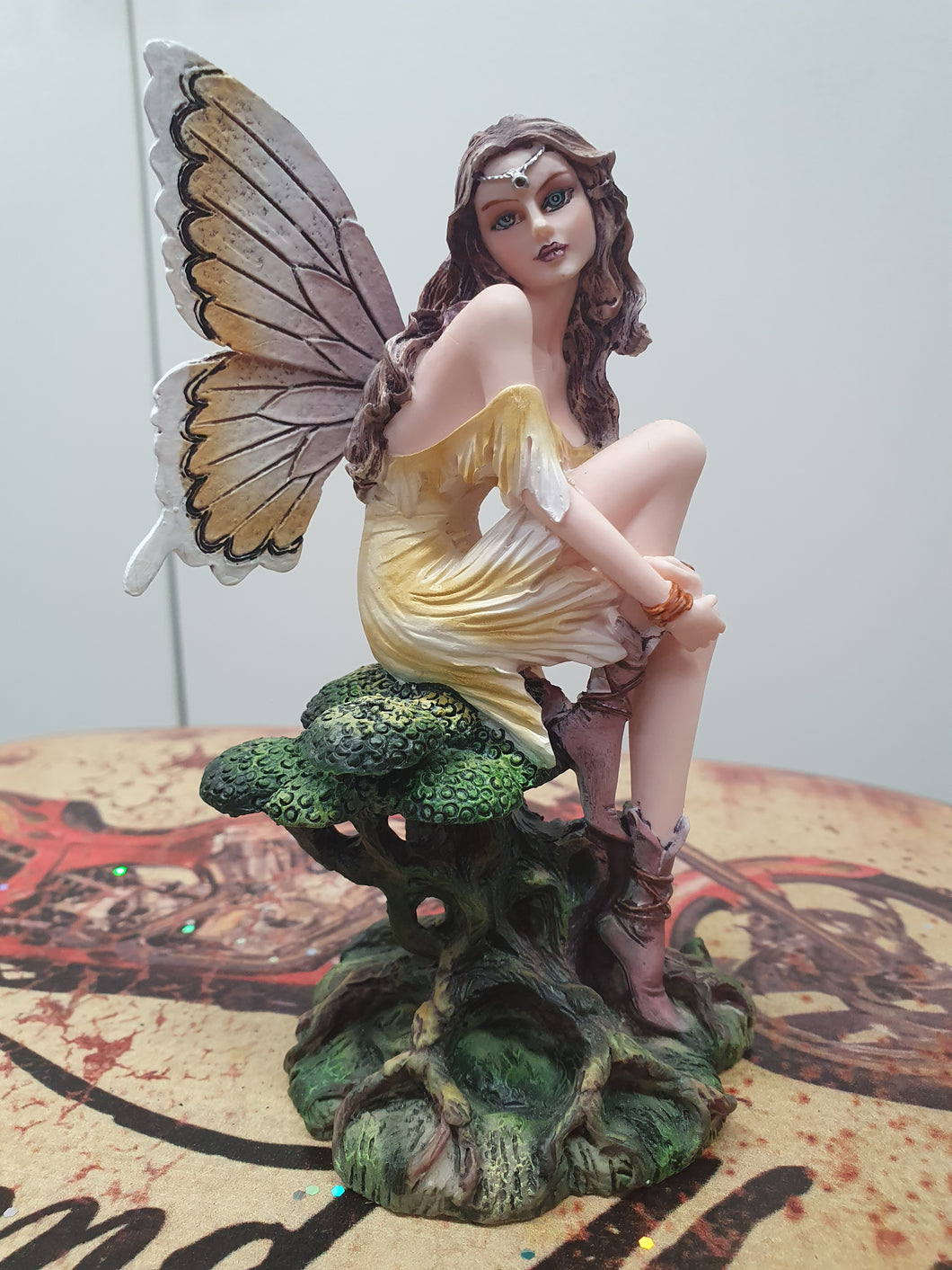 Fairy Sitting on Tree