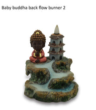 Load image into Gallery viewer, BABY BUDDHA BACK FLOW BURNER