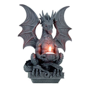 Dragon With Tealight