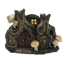 Load image into Gallery viewer, Fairy Garden House Mushrms LED