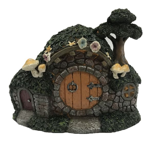Fairy Garden House Tree & LED