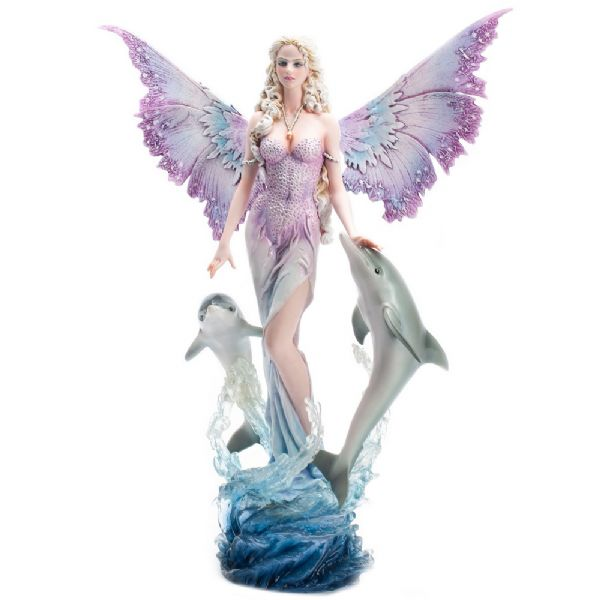 Fairy With Dolphins