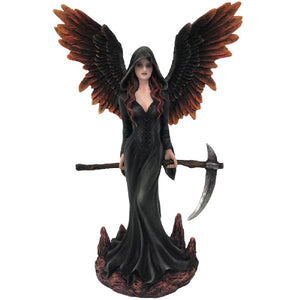 Dark Angel With Sickle