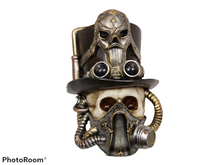 Load image into Gallery viewer, Steampunk Skull Bust