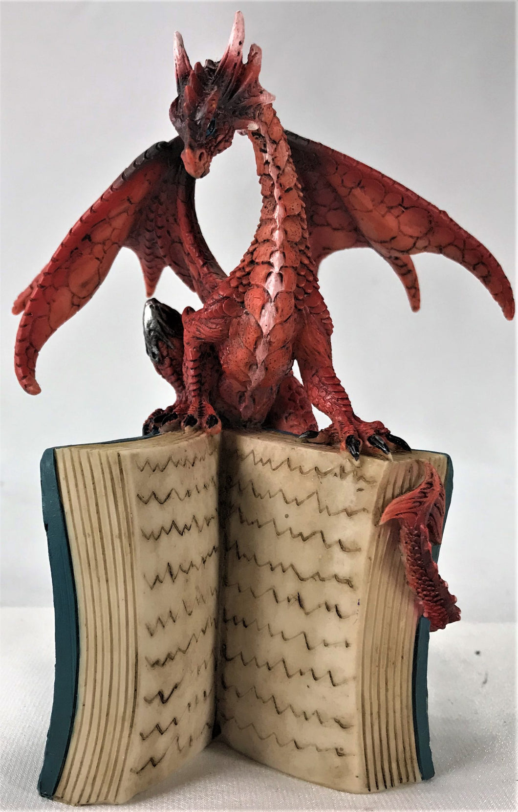 Dragon Orange on Book