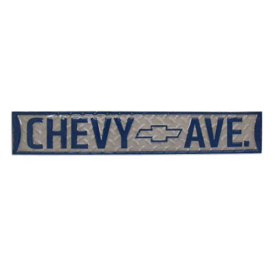 Chevy Ave Sign