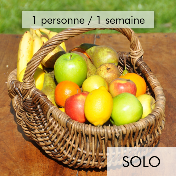 Panier 100% fruits - Solo
