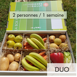 Box Fruits et Légumes - Duo