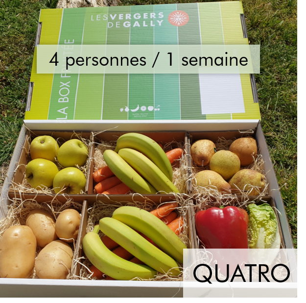 Box Fruits et Légumes - Quatro